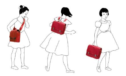 miniséri boekentassen kun je op drie manieren dragen