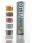 Organic Modeling Clay, small tube, 5 colors