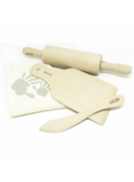 Wooden modeling clay tools