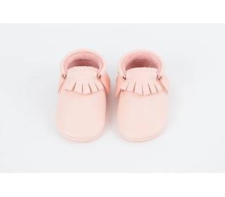 babyslofjes - Traditional Moccasins Blush - Amy & Ivor