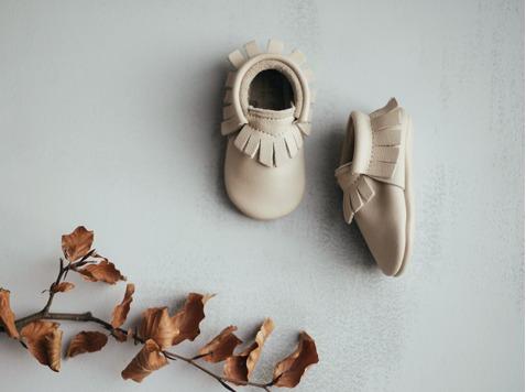 Amy & Ivor - Brits merk dat luxueuze en stijlvolle lederen babyschoentjes met de hand vervaardigd