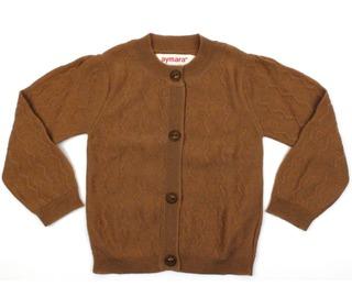 cardigan Tyler - woody brown - aymara