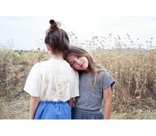 Lisa romantic blouse - ecru | Buho