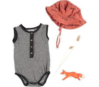 Bob fish baby hat terraco│Buho