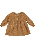 Rosie liberty baby girl dress biscuit │Buho