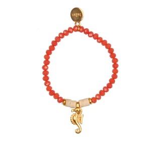 Bracelet Seahorse - coral - Búho