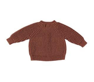 Robin knit cardigan Caramel - Búho
