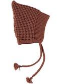 Smurf knit hat Caramel