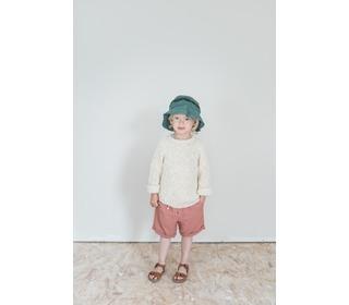 Simon Cotton Bermuda - brick - Búho