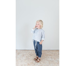 Paul Stripes Shirt - Indigo - Búho