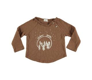 Lenny super moon t-shirt caramel   buho