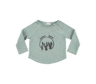 Lenny super moon t-shirt celadon | buho