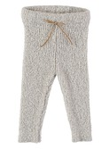 Jess baby terry knit legging ecru