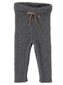 Jess baby terry knit legging Grey