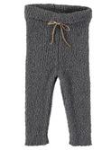 Jess baby terry knit legging Grey