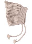 Smurf knit hat Natural