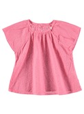 Lulu baby top sugar coral
