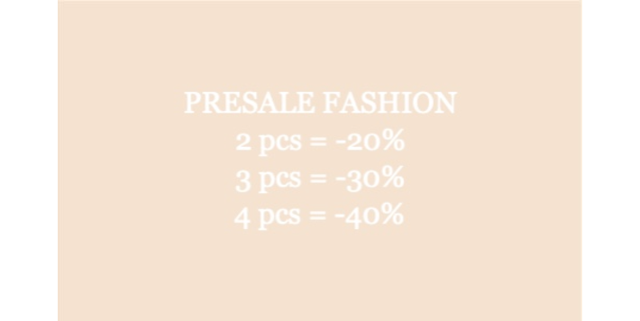 PRESALE FASHION