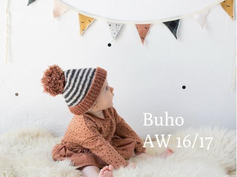 Buho staat voor kleertjes met een scale aan kleuren, exclusieve prints, zachte en zorgvuldig gekozen