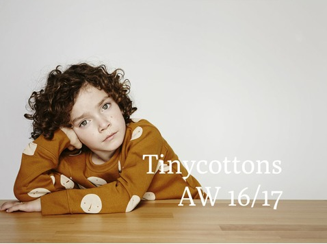 Tinycottons, het trendy kindermerk uit het hippe Barcelona, ontwerpt inspirerende kinderkledij.