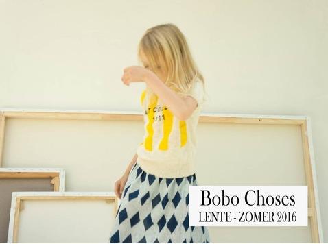 Het jonge Spaanse merk Bobo Choses baseert zich voor elke collectie op een specifiek verhaal.