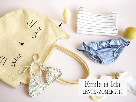Het Franse kledingsmerk 'Emile et Ida' laat zich inspireren op vintage stijl