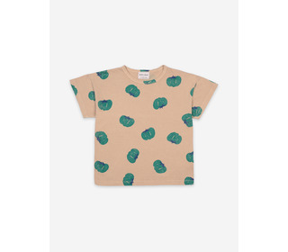 Tomatoes all over short sleeve t-shirt - Bobo Choses