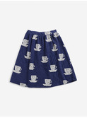 Cup of Tea All Over jersey midi skirt