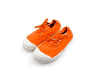 tennis laces orange   Bensimon