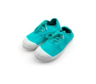 tennis laces turquoise | Bensimon