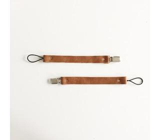 Speenkoord Leather - Cognac - Bezisa