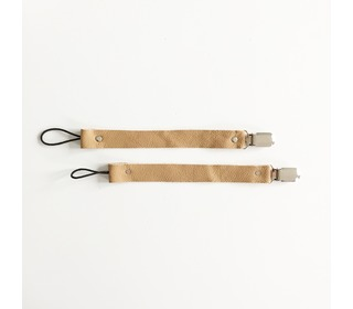Speenkoord Leather - Camel - Bezisa