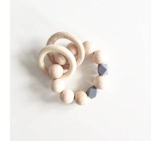 Rammelaar Wooden basics - Grey - Bezisa