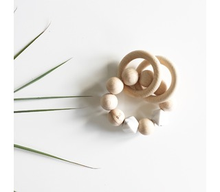 Rammelaar Wooden basics - Marble - Bezisa