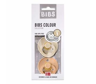 Bibs fopspeen - blister Vanilla/Peach - Bibs