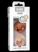 Bibs fopspeen - blister Woodchuck/Blush