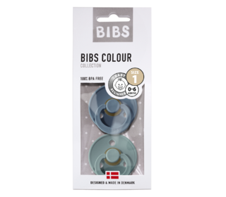 Bibs fopspeen - blister Petrol/Island Sea - Bibs