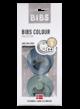 Bibs fopspeen - blister Petrol/Island Sea