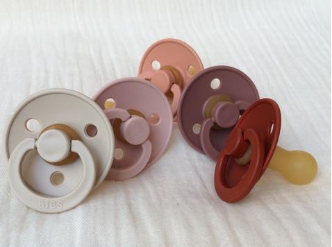 Bibs - fopspenen in 100% natuurlijk rubber en trendy kleuren