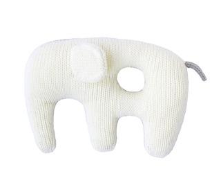 knuffel-rammelaar Jumbo Elephant Grey - Blabla kids