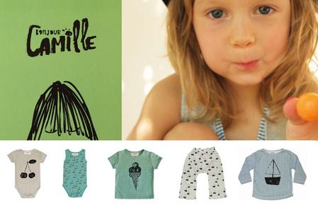 \'Bonjour Camille\', de nieuwe lente-zomercollectie van Bobo Choses
