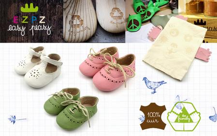 100% ecologische babyschoentjes