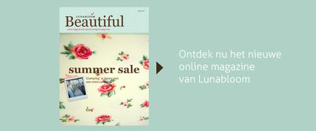 Ontdek het online-magazine \'beautiful\' van Lunabloom
