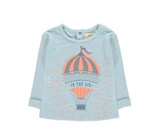 t-shirt luchtballon - celeste   Blune