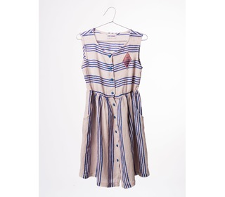 Striped shaped dress Legend | Bobo Choses