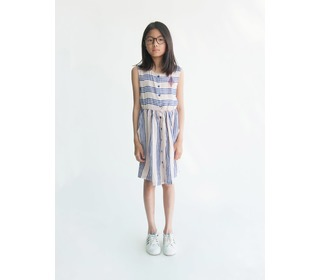 Striped shaped dress Legend | Bobo Choses