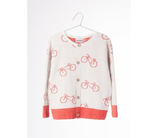 Knit cardigan The Cyclist AO | Bobo Choses