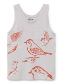 Birds Tank Top  | Bobochoses
