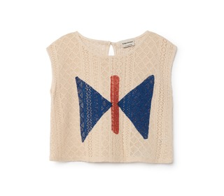 Butterfly Sleeveless Shirt  | Bobochoses