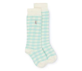 Green Vichy Socks | Bobochoses